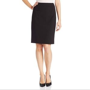 NEW Calvin Klein Black Suit Professional Skirt 10